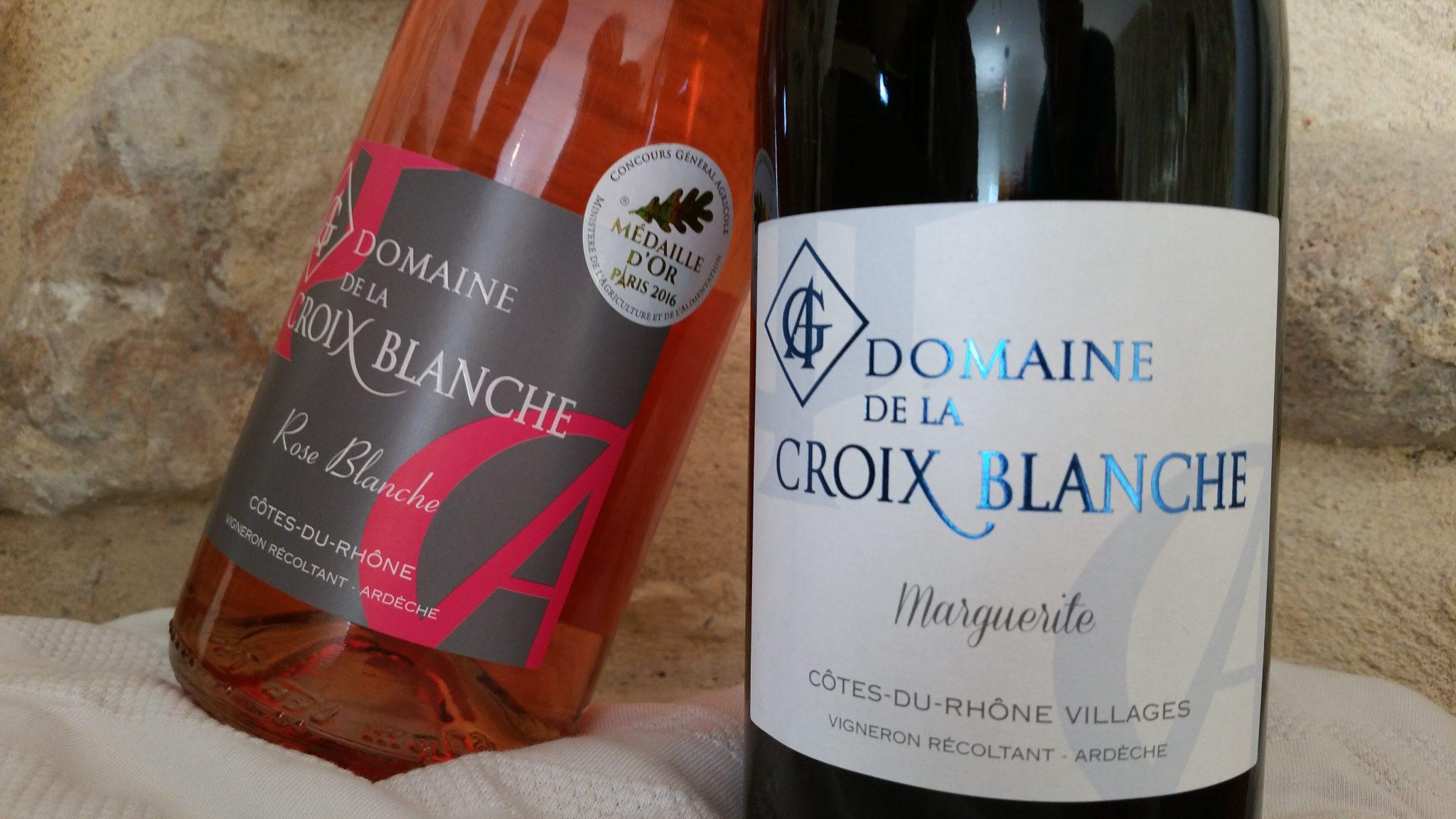 Domaine De La Croix Blanche Organic Wineyard In Southeast