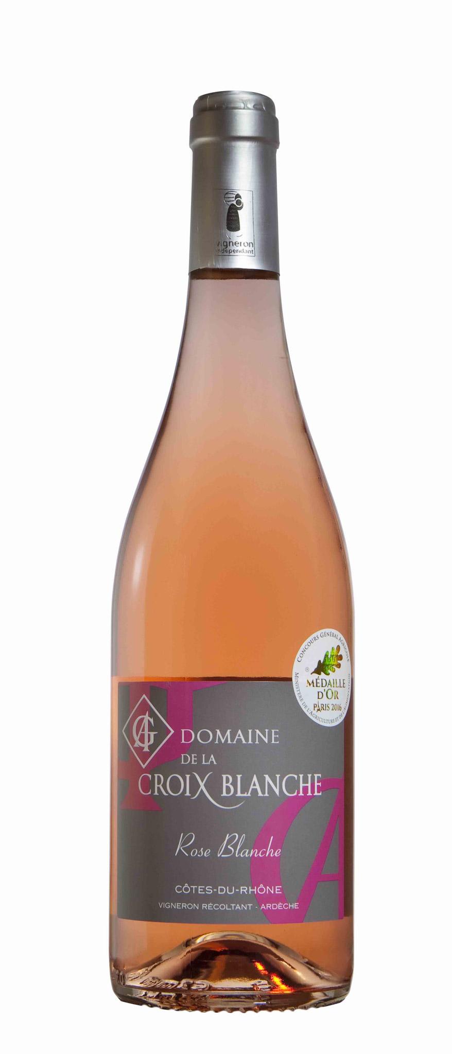 CÔTES DU RHÔNE – ROSE BLANCHE – ROSÉ 2016