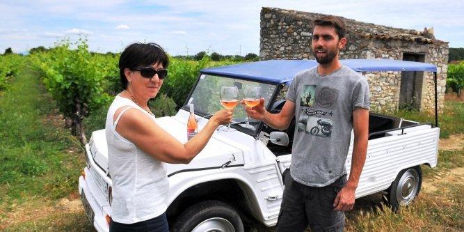 Découvrir les vignobles en voiture de légende
