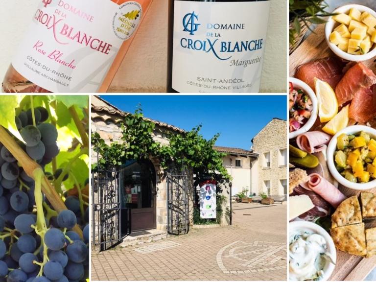 1 - Visite de cave et dégustation commentée de nos vins