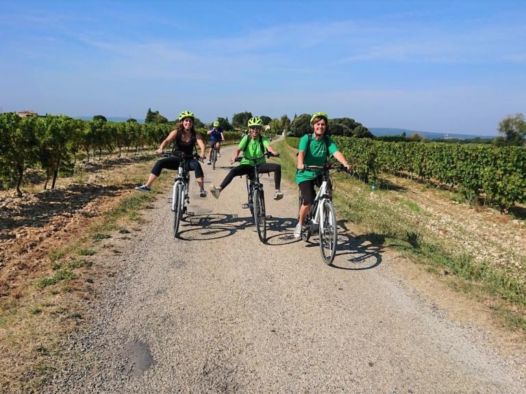 3 - VélOenologie : Balade à velo et dégustation des vins